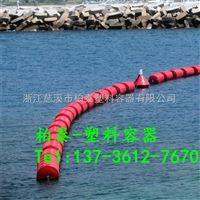 FT600*1000铜陵白色垃圾拦截浮子塑料浮体