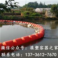 FT60*100钢结构拦污漂排塑料拦污浮漂