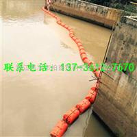 FT60*100利用浮筒拦截生活垃圾塑料浮排