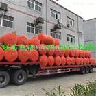 核电站拦污浮筒拦渣浮排图片