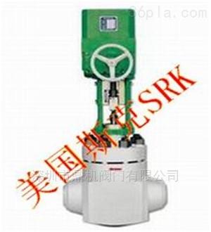 srkt系类进口电动气动调节阀图片