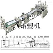 PE复合共挤板材生产线