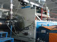 雙平壁塑鋼纏繞排水管生產設備