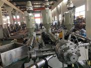 SJ65/33單螺桿擠出機-張家港市華德機械20-110ppr三層共擠復合冷熱水管擠出機生產線