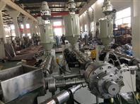 ppr pe三层共挤硅芯管挤出机生产线