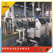 SJZ65-PVC双螺杆热切风冷造粒机