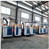 PU制品聚氨酯高压发泡机宝龙发泡设备厂家