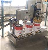 玻璃胶半自动灌装固化剂胶水灌装机