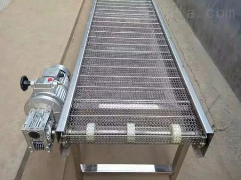 乌鲁木齐金属网带输送机 水平直线输送加厚