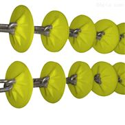 管鏈盤片-耐酸堿盤片加工定制 管鏈輸送機配件