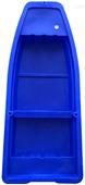 湖南水库塑料船4米救援船河道清洁船