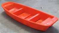 十堰塑料船3.25米双层渔船观光船