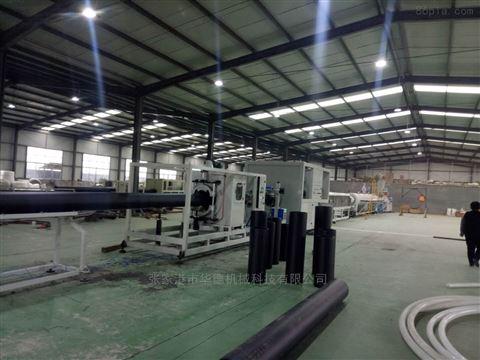 HDPE三层共挤管材设备生产线
