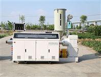 SJ系列65單螺桿塑料管材擠出機生產設備