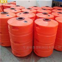 塑料水庫攔污浮筒成都水電站漂浮物浮筒