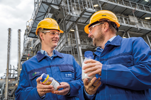 巴斯夫首度利用化学回收塑料制造产品