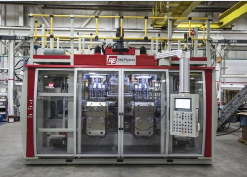 R&B与台湾、开普敦公司合作推出全新的全电动吹塑机